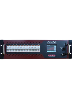 Genvi LSC Advanced Dimming System 12x 16a Switchable Dimmer