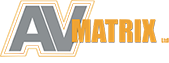 AV Matrix Audio Visual Events Logo
